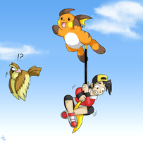 Raichu used FLY by raizy