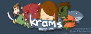 Krams Design Logo by Sughly