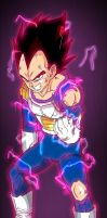 Vegeta's last attempt by fear229