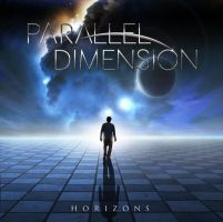 Parallel Dimension 'Horizons' EP Cover Art by Karelys-Luna