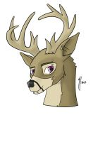 Stag by misty2999