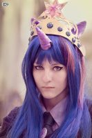 Alicorn Princess Twilight Sparkle by FukitsuLine