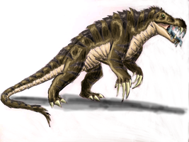Evolved Blue Tongue Lizard by Creepy-Stag-Waffle