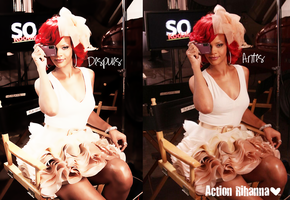 Action Rihanna. by Noah-Muffin