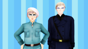 MMD Hetalia - Whenever I'm angry... by PikaBlaze