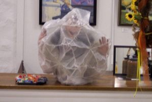 Rotodesic Bubble-Wrapped Man2 by KansasArtist