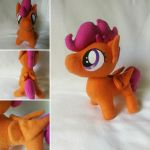 Blank Flank Scootaloo by Jhaub1