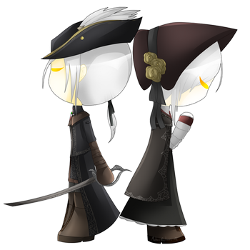 Lady Maria and Plain Doll by MadalineJones