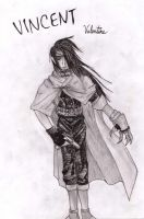 Vincent Valentine by Tombstonedust
