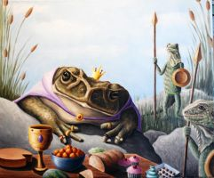 The Toad King by JessicaEdwards