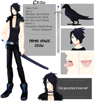 Crow by Tinseii