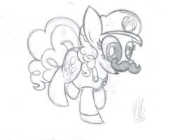 It's a me, Pinkie Pie! by drawponies
