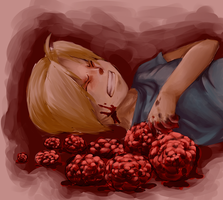 if my pain was turned to flowers... by tinydoodles