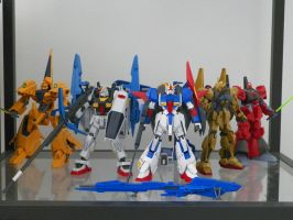 Zeta Gundam Team by kamon-san