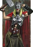 Daily Sketches That female Thor by fedde