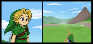 Hyrule Field by Left-Handed-Knight