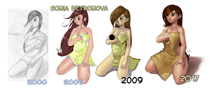 Sonia Comparison 2017 by kevinsano