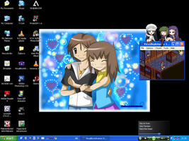 My Current Desktop by sim-pie