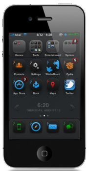 iFlat for iOS4 by deckedsg