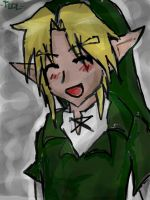 Link happy lalala by TheLegendOfLink