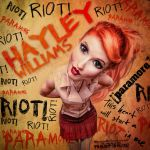 Hayley Caricature by xoxopurple