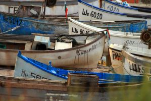 fishing boats by lucifersdream