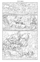 Transformers 9 - P.6 Lineart by GuidoGuidi