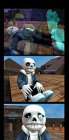 Freedom-of-Sans-p1  -Undertale spoilers within- by Rachidile
