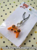 Orange game control charm by The-Cute-Storm