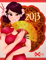 Exoro Choice's 2013 Chinese New Year Cards 12 by ExoroDesigns