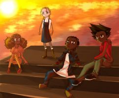The Boondocks: Season 2 kids by sukreih