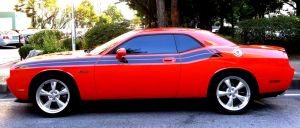 Red Challenger Coupe by toyonda