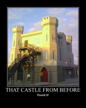 That One Castle -demotivation- by Dragunov-EX
