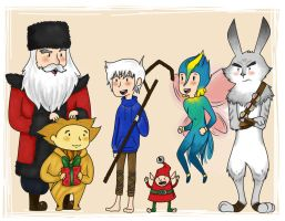 Rise Of The Guardians by TeaDeCat