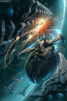 Sci fi unexpected strike by Sviatoslav-SciFi