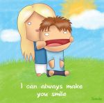 I can always make you smile by CrazySancho