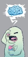 Even Yetis get Brain Freeze by cronobreaker