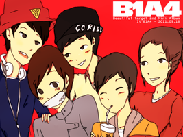 B1A4: Beautiful Target by Soondie