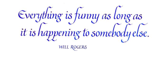 Will Rogers - Everything is Funny by MShades