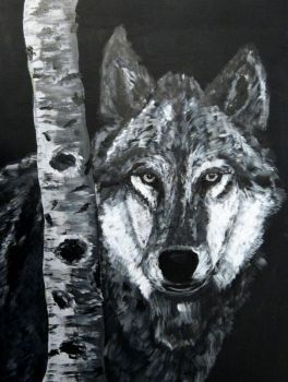 Wolf by ronhue