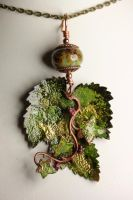 Lampwork and Leaves by Ironmountain01