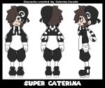 Super Caterina_character sheet by SuperCaterina