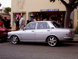 mercy Datsun 510 4 door sedan by Partywave