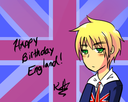 Happy Birthday England by KirariRinkan