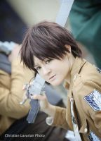 Eren Jaeger - Snk Cosplay by TessaCrownster