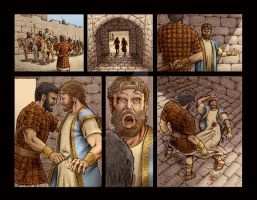 King David Volume 2 Chp 7 page by MitchFoust