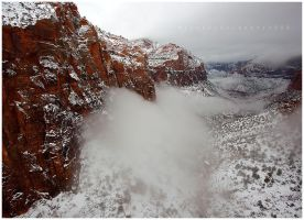 Winter in Zion by michael-dalberti