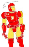 Soviet Iron Man Coloured by Imperator-Zor