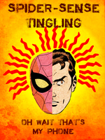 Spider-Sense Tingling... by Tharun23