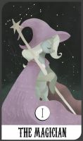 Tarot Card #1, Trixie the Magician by TwitchyKismet